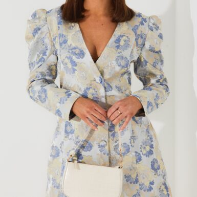 Bardot Jaquard Floral Dress Loose fit
