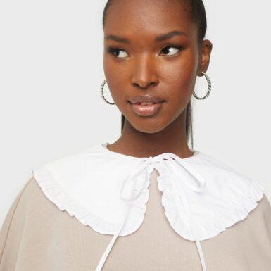 Co'couture Loose Frill Collar Accessoarer övrigt