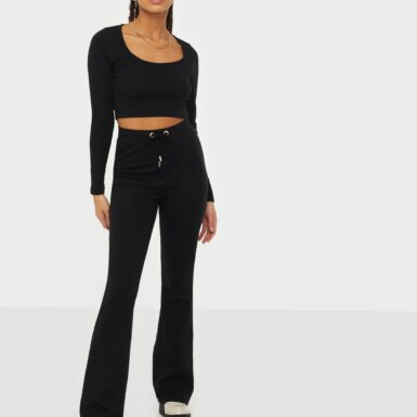 NLY Trend My Perfect Set Jumpsuits Svart