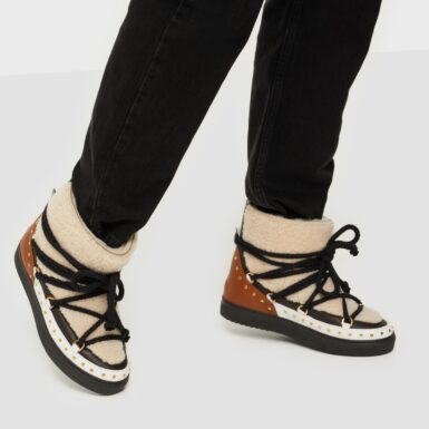 Inuikii Sneaker Curly Rock High Top Cream