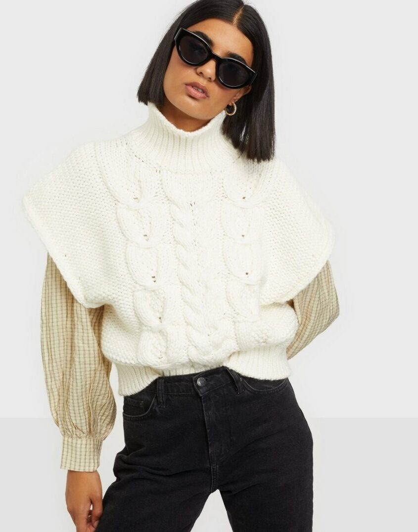 IRO WP12SILOPO Stickade tröjor