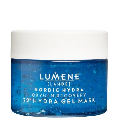 Lumene Lähde NORDIC HYDRA Oxygen Recovery 72h Hydra Gel Mask Ansiktsmasker