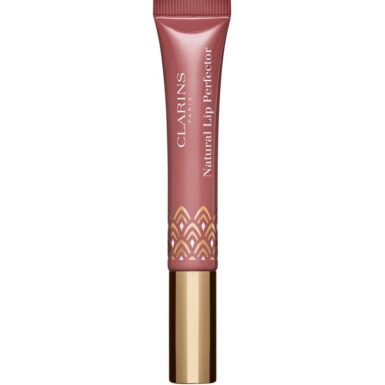 Clarins Natural Lip Perfector Läppglans Intense Rosebud