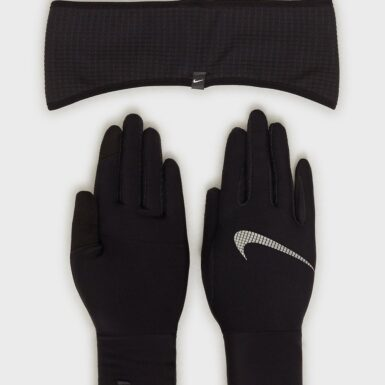 Nike Nike Wmns Ess Running Headband and Glove Set Pannband & Armband