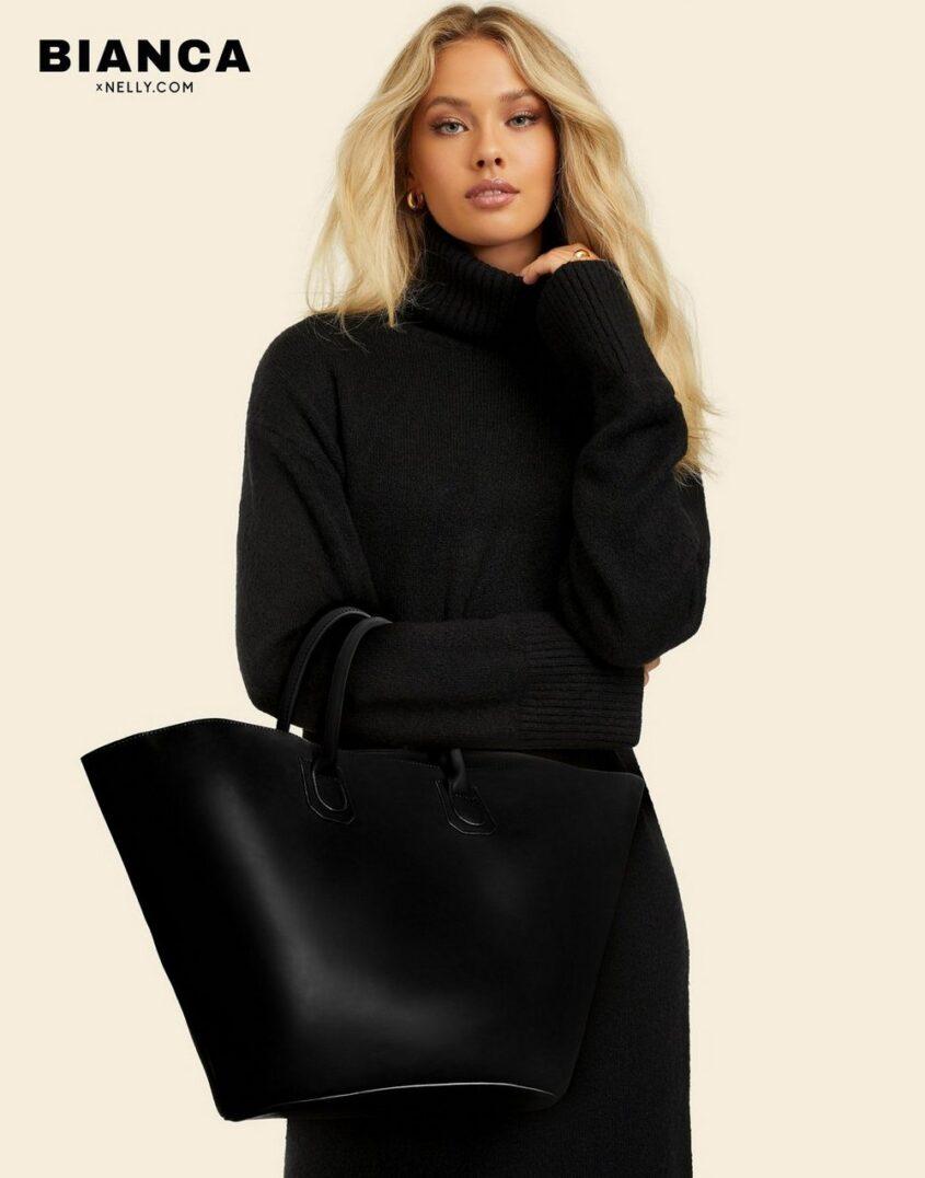 Bianca x Nelly.com Anywhere Bag Handväskor Svart