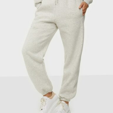 Neo Noir Jocelyn Sweat Pants Byxor Light Grey Melange
