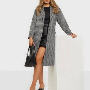 Neo Noir Nima Check Coat Kappor
