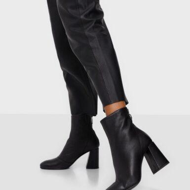 Vero Moda Vmcilla Leather Boot Heel