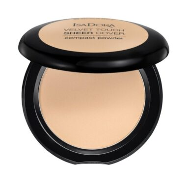 Isadora Velvet Touch Sheer Cover Compact Powder Puder Warm Vanilla